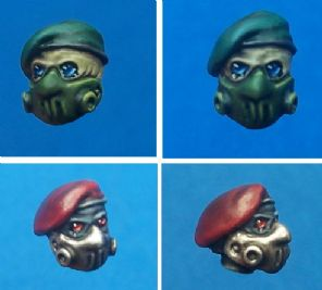 10x Hazmat Commando Heads.